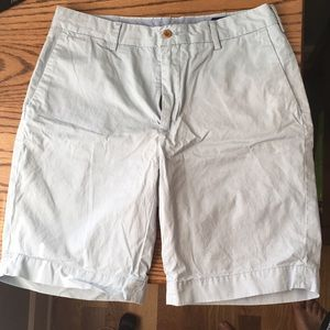 Light Blue Polo Shorts - Size 33